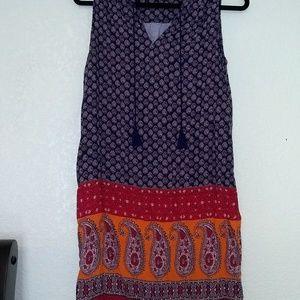Beachlunchlounge Paisley print shift dress